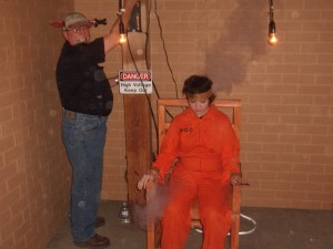 Fright Night 2012- electric Chair