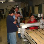 Openhouse dec 2012 CNC router demo 1