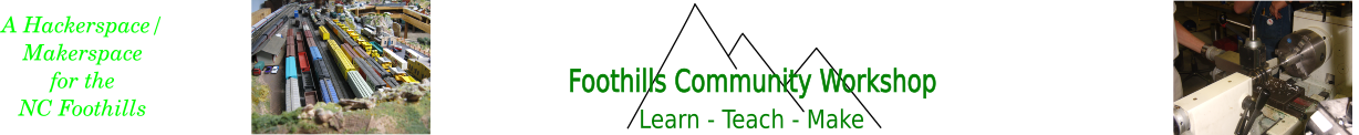 Foothills Community Workshop